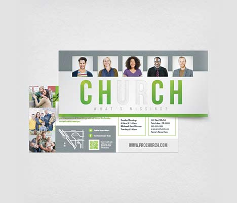 Church Outreach Card