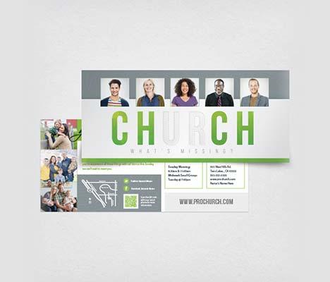 Church Outreach Card