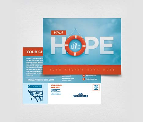 Church Postcards | Customizable Designs