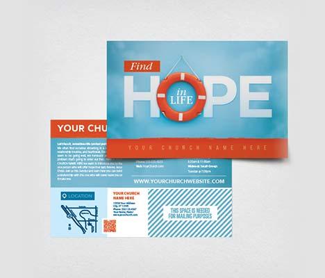 church mailers customizable designs