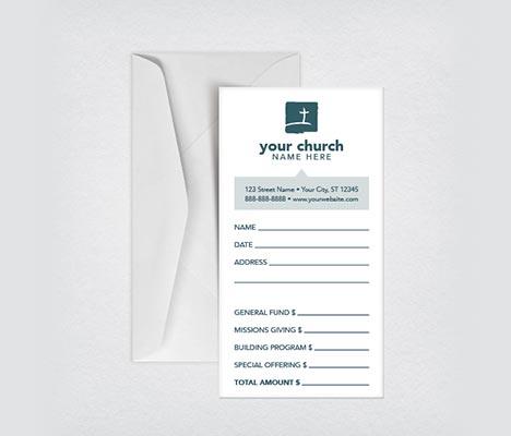 Church Offering Envelope Design