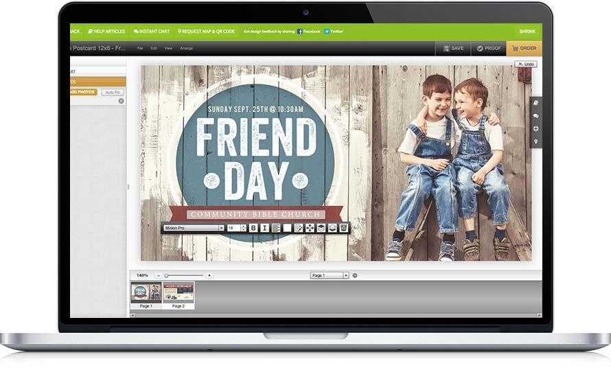 Church Graphic Design Online
